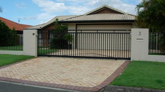 Wrought Iron Gates by Aussie Auto Gates