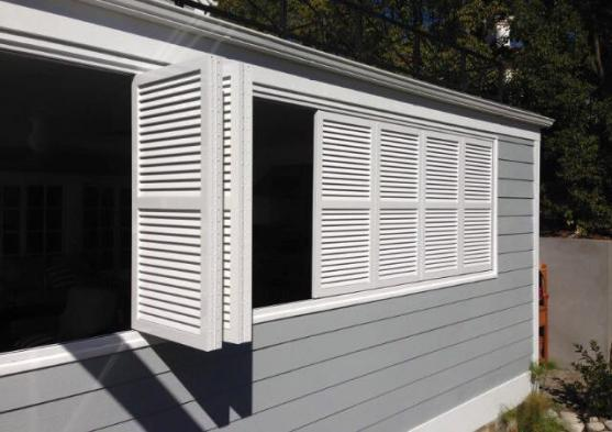 Outdoor Shutter Designs  by 3228 Blinds