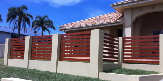 Brick Fencing Designs by Knockout Fencing