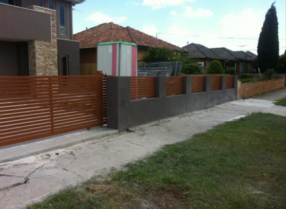 Brick Fencing Designs by Specific Steel