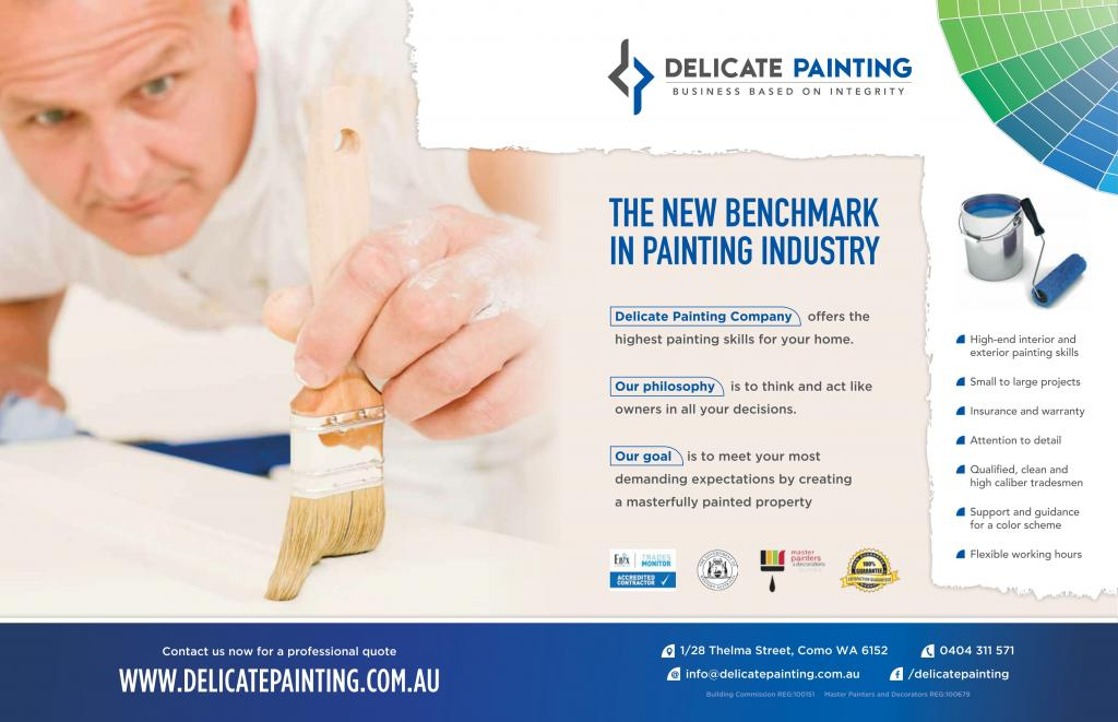 Delicate Painting Company Pty Ltd Perth 24