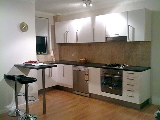 Getit installed northern beaches northern sydney for Flat pack kitchen cabinets perth