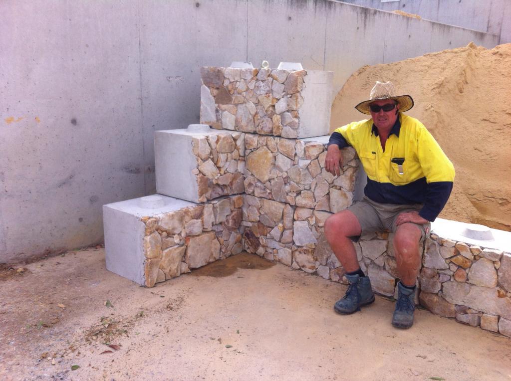 Remat Skip Bins Crushed Concrete Amp Retaining Wall