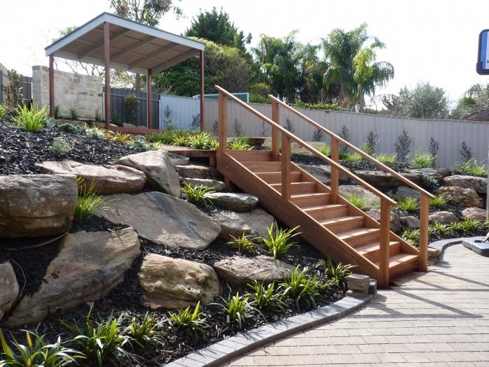 Galleries living pictures by tony stanton for Landscape garden design adelaide