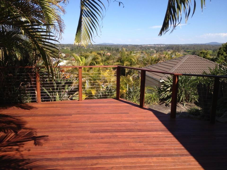 Garden Deck with a View