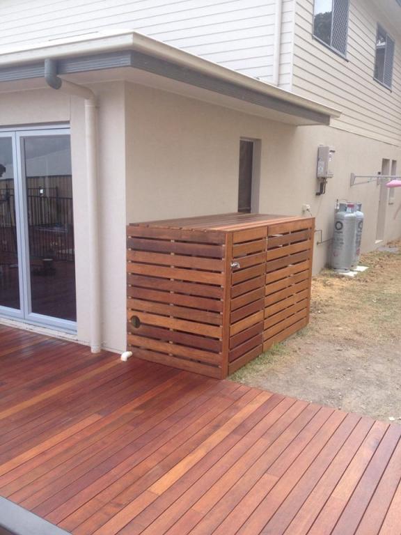 Deck Around Pool Yard