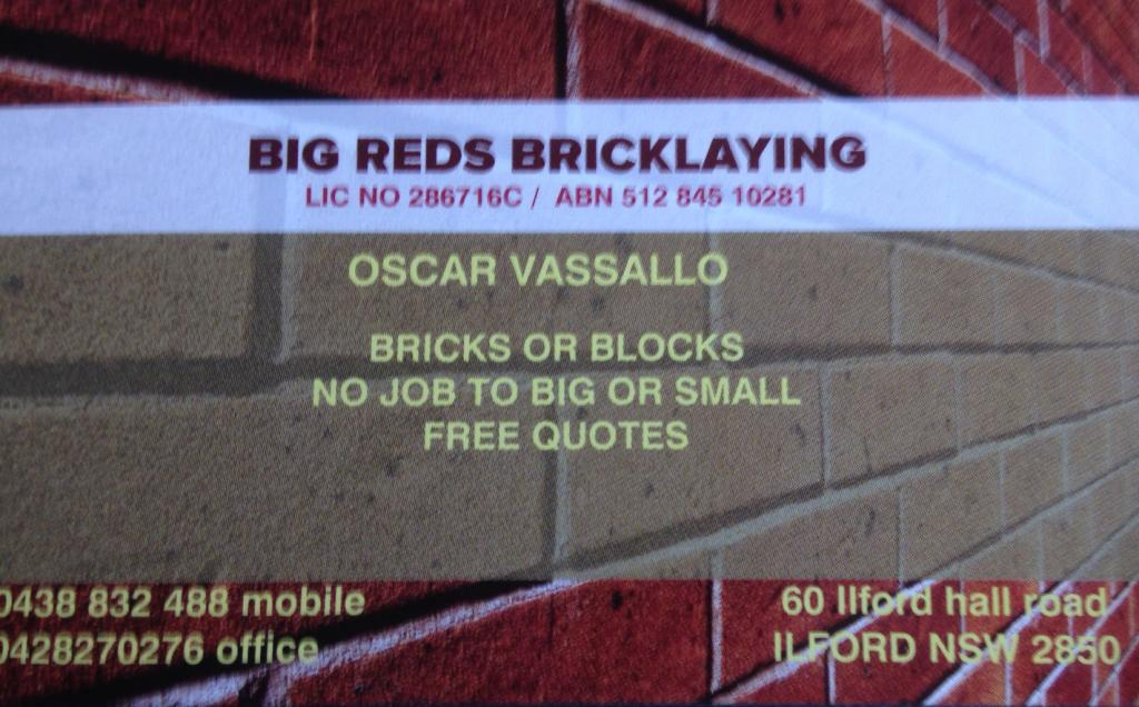 Galleries - Bigreds Bricklaying