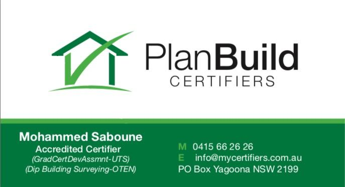 Planbuild Certifiers Sydney City 1 Reviews Hipages