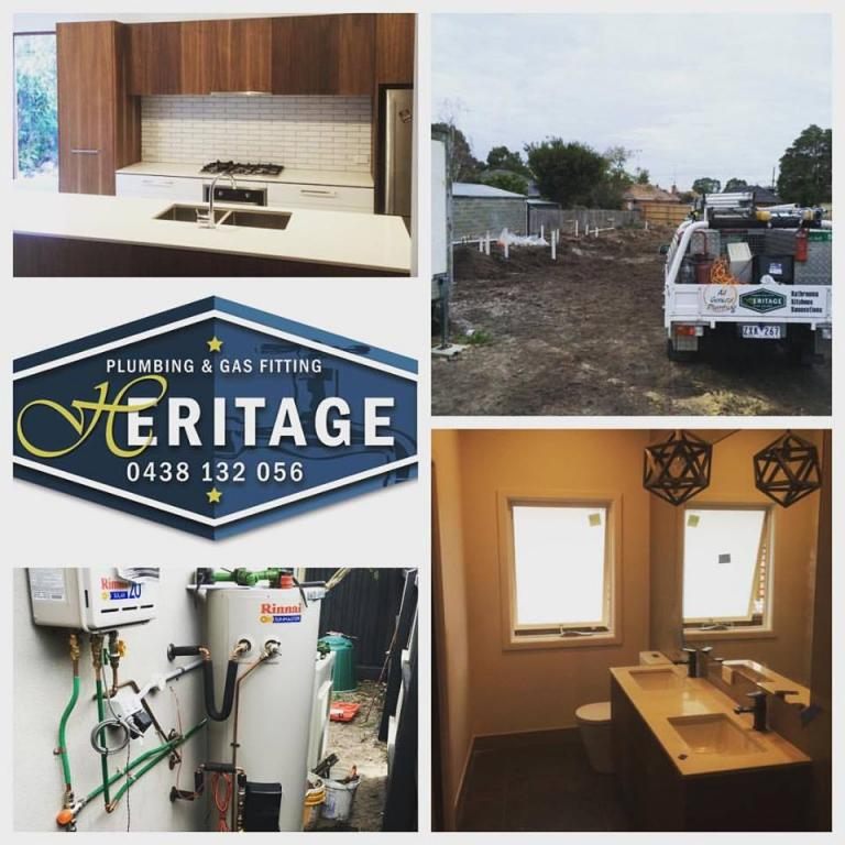 Heritage Plumbing And Gas Fitting Northern Suburbs Of