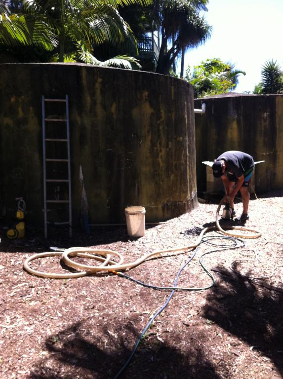 A1 Complete Water Tank Servicing Brisbane Sunshine