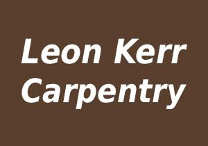 Leon Kerr Carpentry Servicing The Sunshine Coast