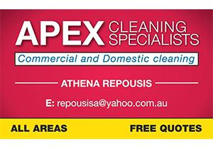 Apex Cleaning Specialist Picnic Point Athena Repousis 1