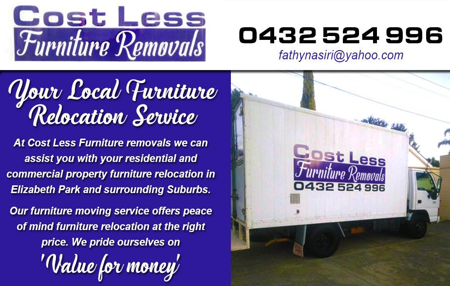 Cost Less Furniture Removals   Elizabeth Park   8 Recommendations    Hipages.com.au