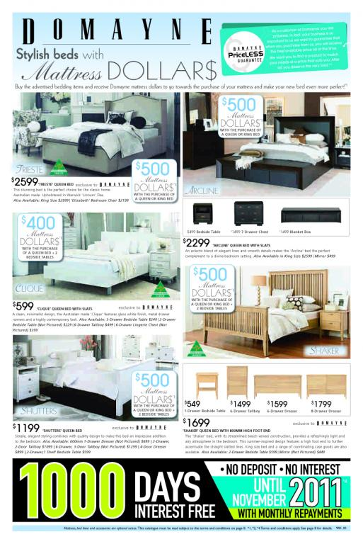 Bedroom Furniture Catalogue