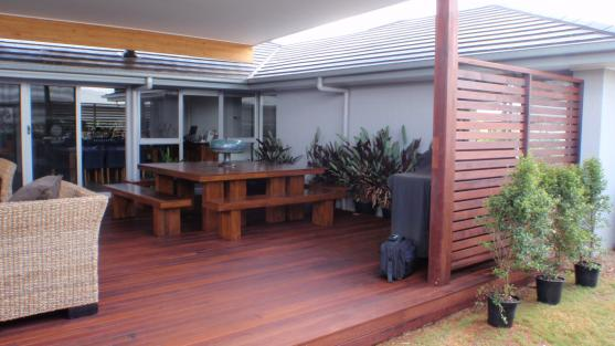 Timber Decking Ideas by Eco Building Services