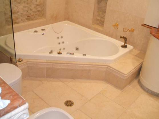 Corner Bath Ideas by Sydney Building Renovations and Repairs