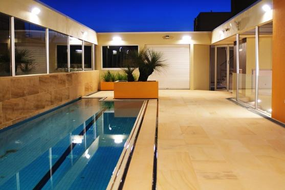 Lap Pool Designs by Warwick O'Brien Architects