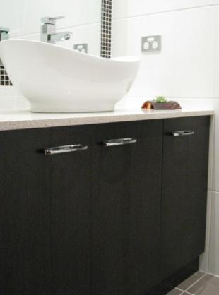 Bathroom Basin Ideas by Powney & Powney Supreme Kitchens Pty Ltd