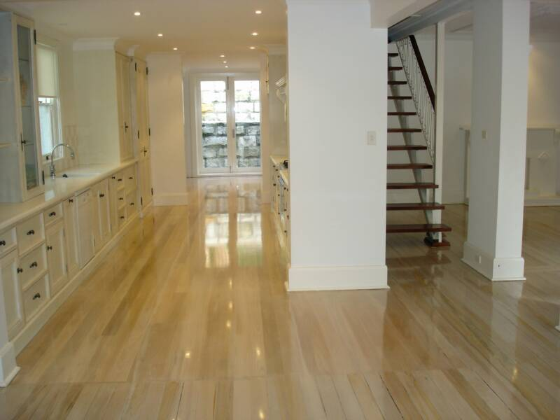 Maintaining Newly Sanded or Polished Timber Floors