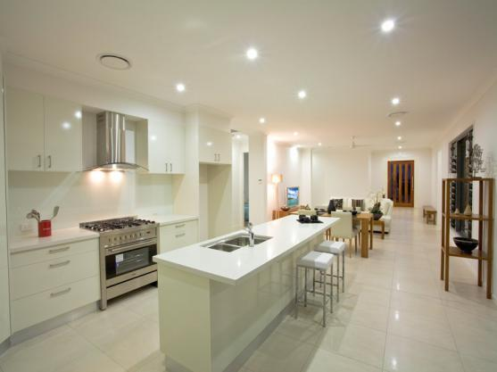 Get inspired by photos of kitchens from australian for Galley kitchen designs australia