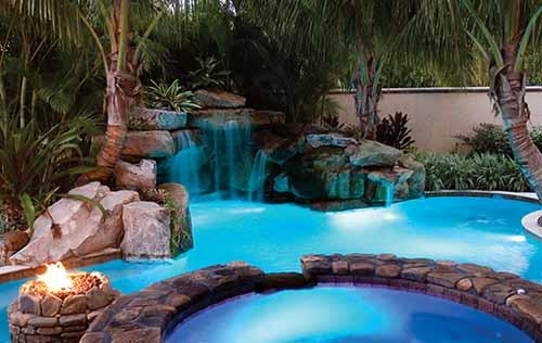 Pool Lights Ideas by Cadox Building Design Pty Ltd