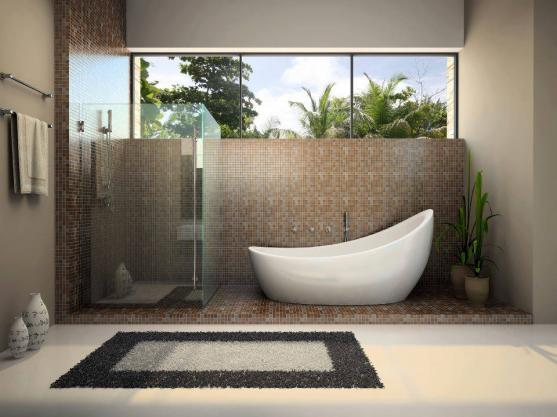 Freestanding Bath Design Ideas by Cadox Building Design Pty Ltd