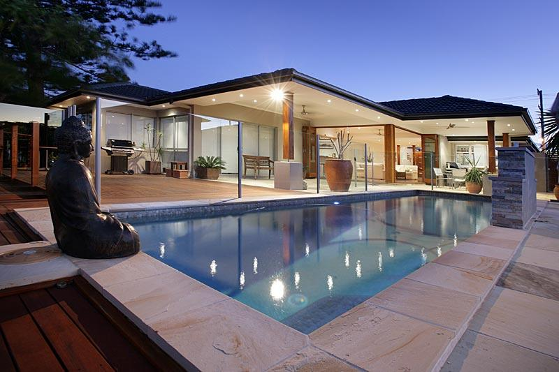 How much does outdoor paving cost for Pool house building costs