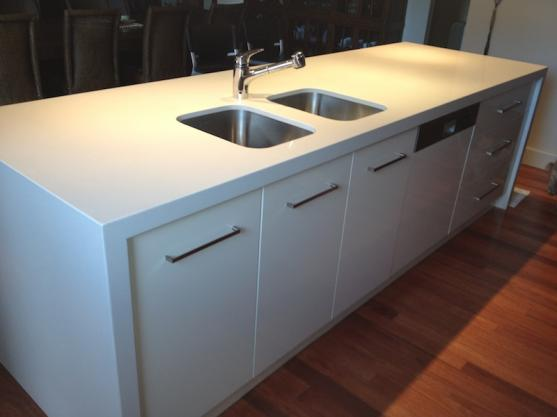 Kitchen Sink Designs by Benchtop Solutions