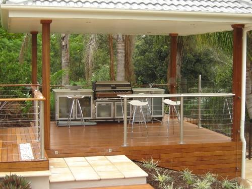 Elevated Decking Ideas by Garde Timber