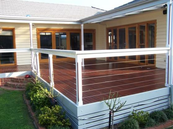 Elevated Decking Ideas by Projects Plus Property Services