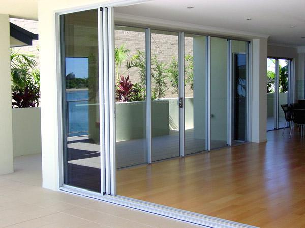 Wintec windows and doors burleigh heads wintec systems for Multiple sliding glass doors