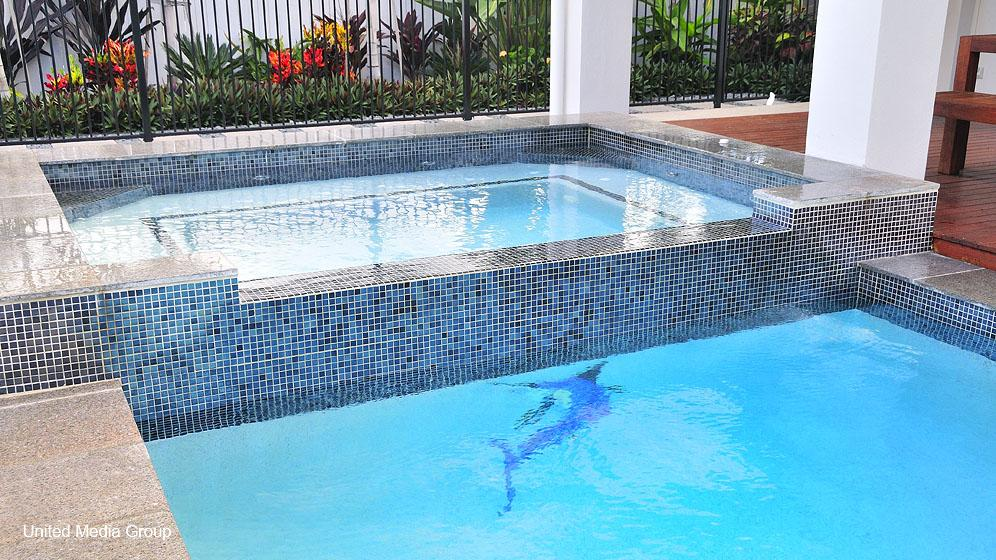 Spas inspiration performance pool spa australia for Inspiration pool cleaner
