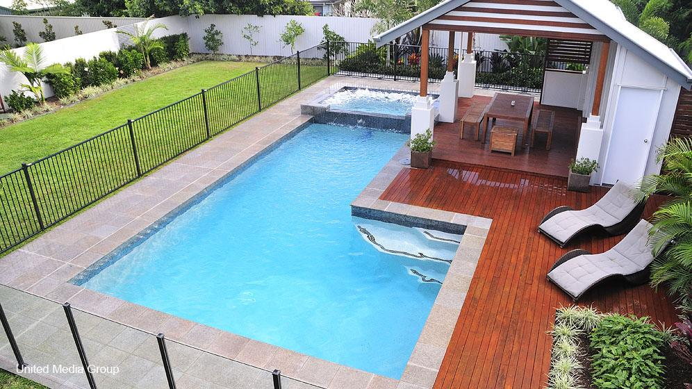 Performance pool spa south east queensland for Pool design ideas australia
