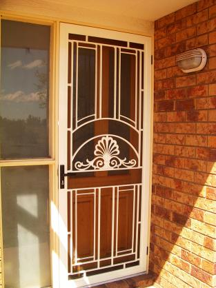 Door Designs by Biloela Screens & Awnings