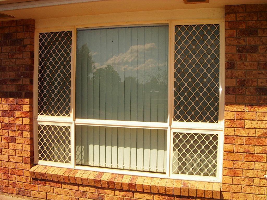 Security screen doors security screen door canberra for Security window screens