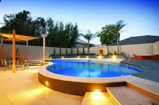 Swimming Pool Designs by Cornerstone Landscape Construction and Design