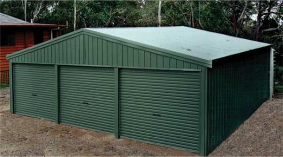 Shed Designs by Online Sheds & Garages Australia