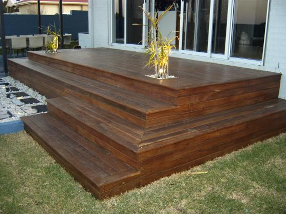 Elevated Decking Ideas by Lewis Landscapes & Paving
