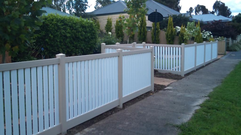 Fencing Privacy Picket Capped