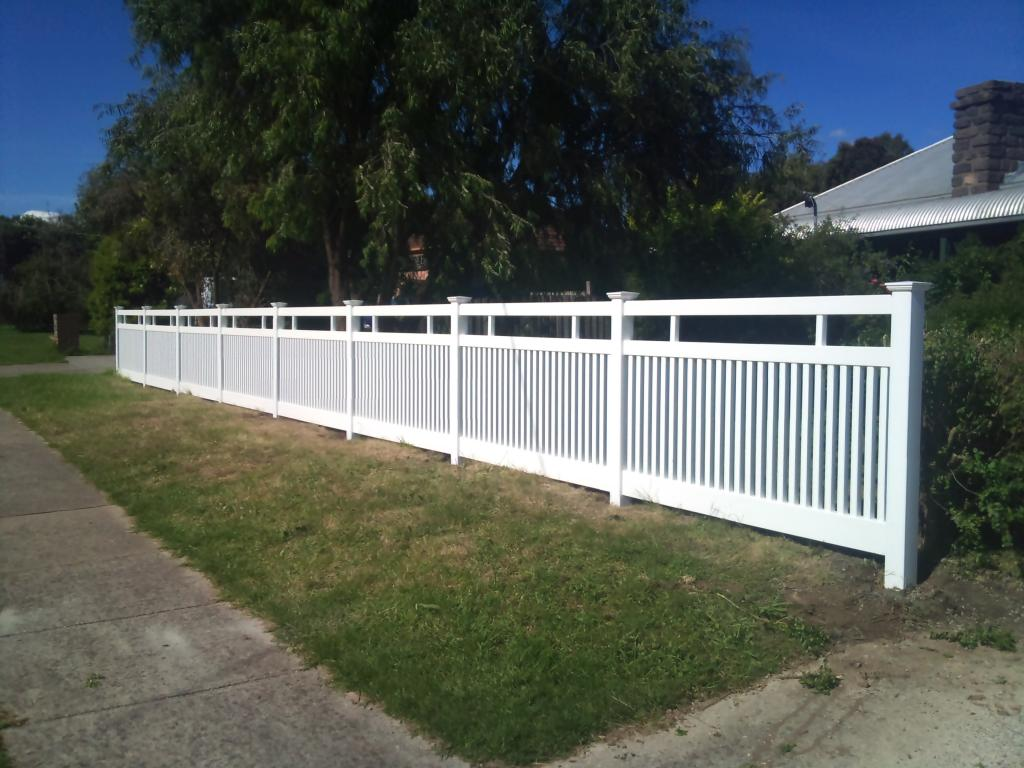 Picket Fencing Inspiration Mathos Pvc Fencing