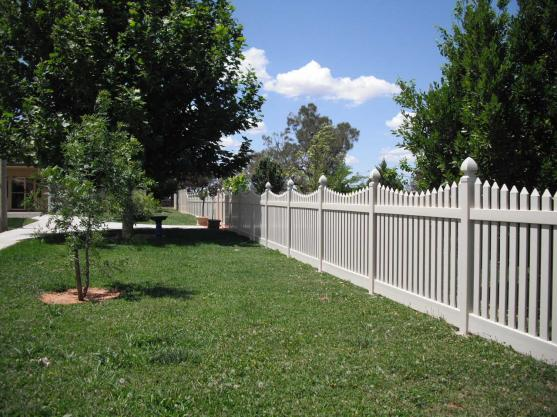 Picket Fencing Designs by Mathos PVC Fencing
