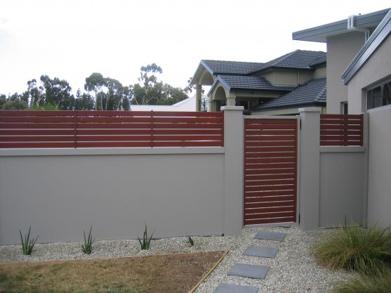 Fence design ideas get inspired by photos of fences from australian
