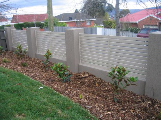 Fence design ideas get inspired by photos of fences from for Front garden fence designs