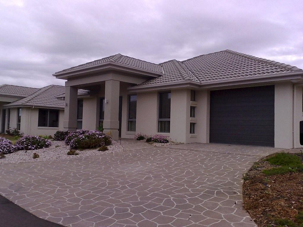Style ideas exteriors home designs single storey for Designers homes