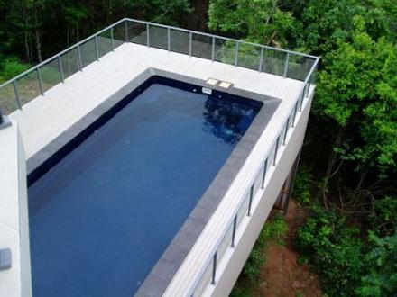 A Beautiful Swimming Pool Made Out Of 10 Pallets  Home