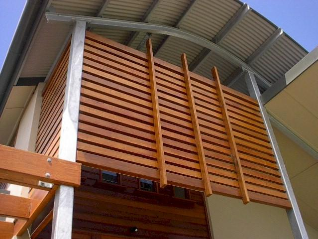 Timber Slat Panels & Gates