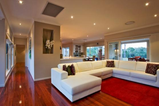 Living room design ideas get inspired by photos of living rooms from australian designers - Lounge rooms ...