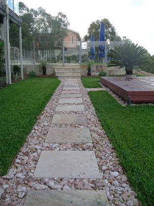 Paving Ideas by Land Art & Gardens