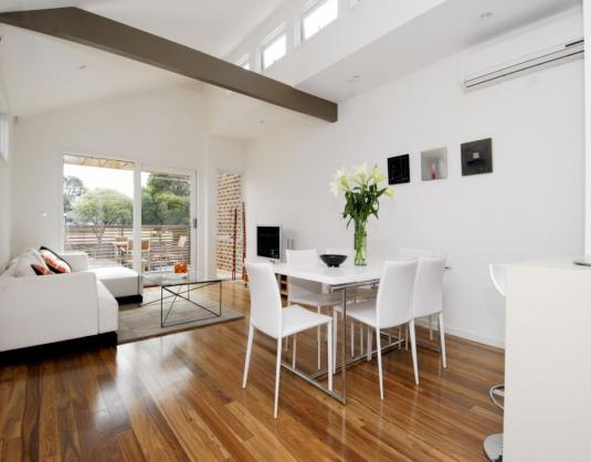 Timber Flooring Ideas by Olive Constructions
