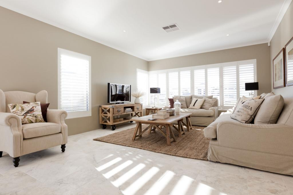 Get inspired by photos of living rooms from australian for Ross north home designs